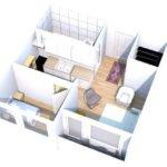 Predané – Predaj 2 izb. bytu, Rusovská cesta, Petržalka, 55m2, komplet zrekonštruovaný, možnosť kúpiť garažové miesto-5