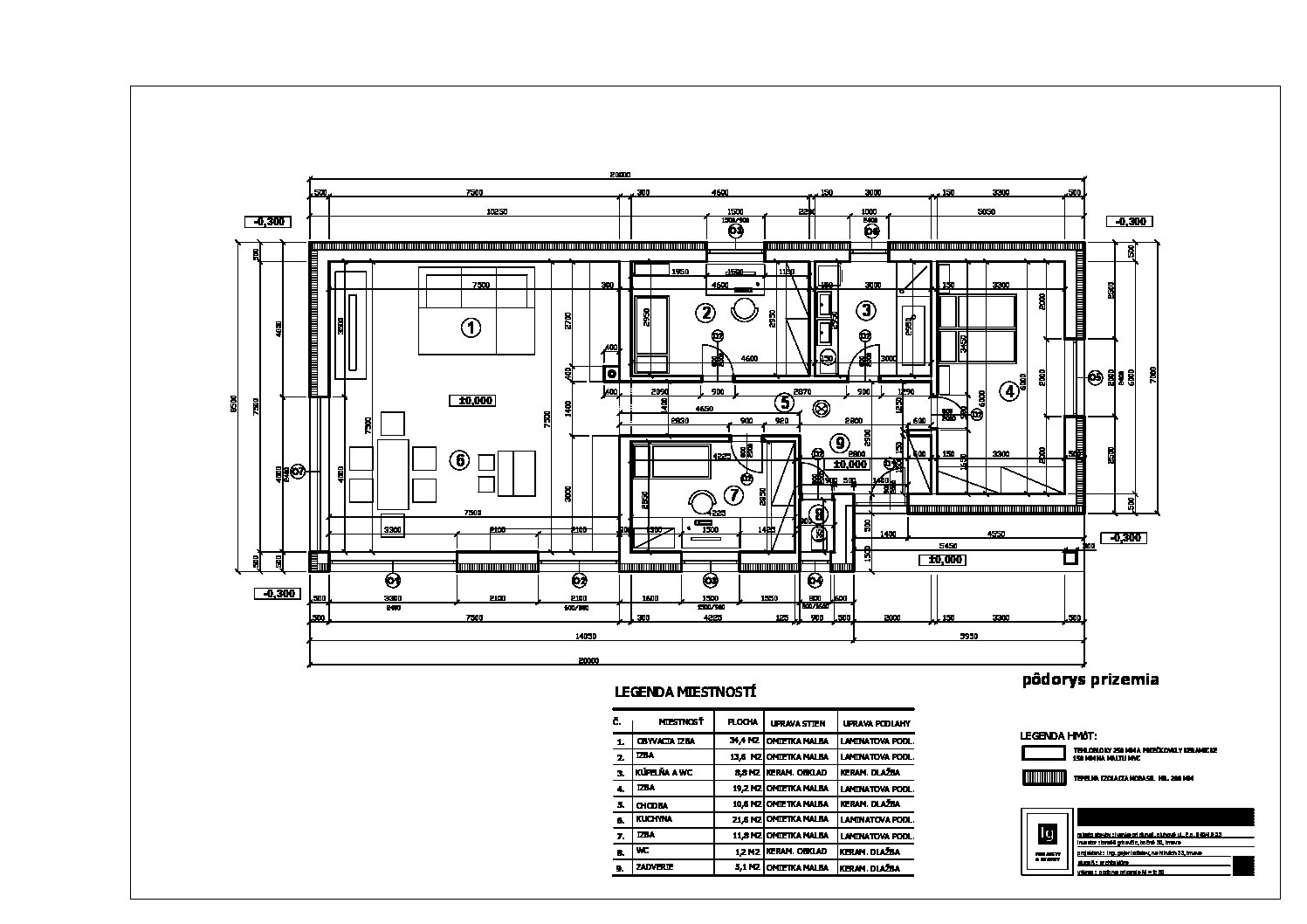 Predané: Predaj nizkoenergetický 4 izbový RD, Bungalov, v Ivanke pri Dunaji časť Farná, úžitková 121m2, pozemok 1038m2-16