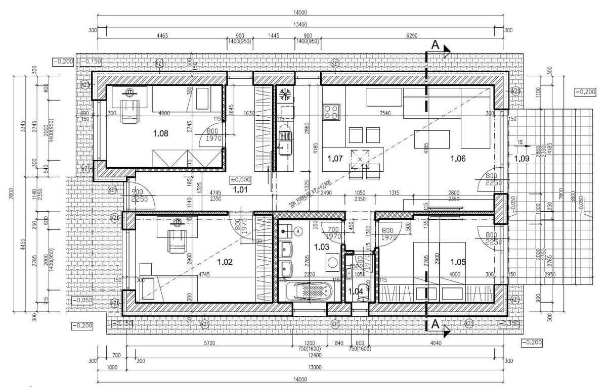 Predané: Na predaj 4 izbový rodinný dom v Hrubej Borši (25 km od Bratislavy)-9
