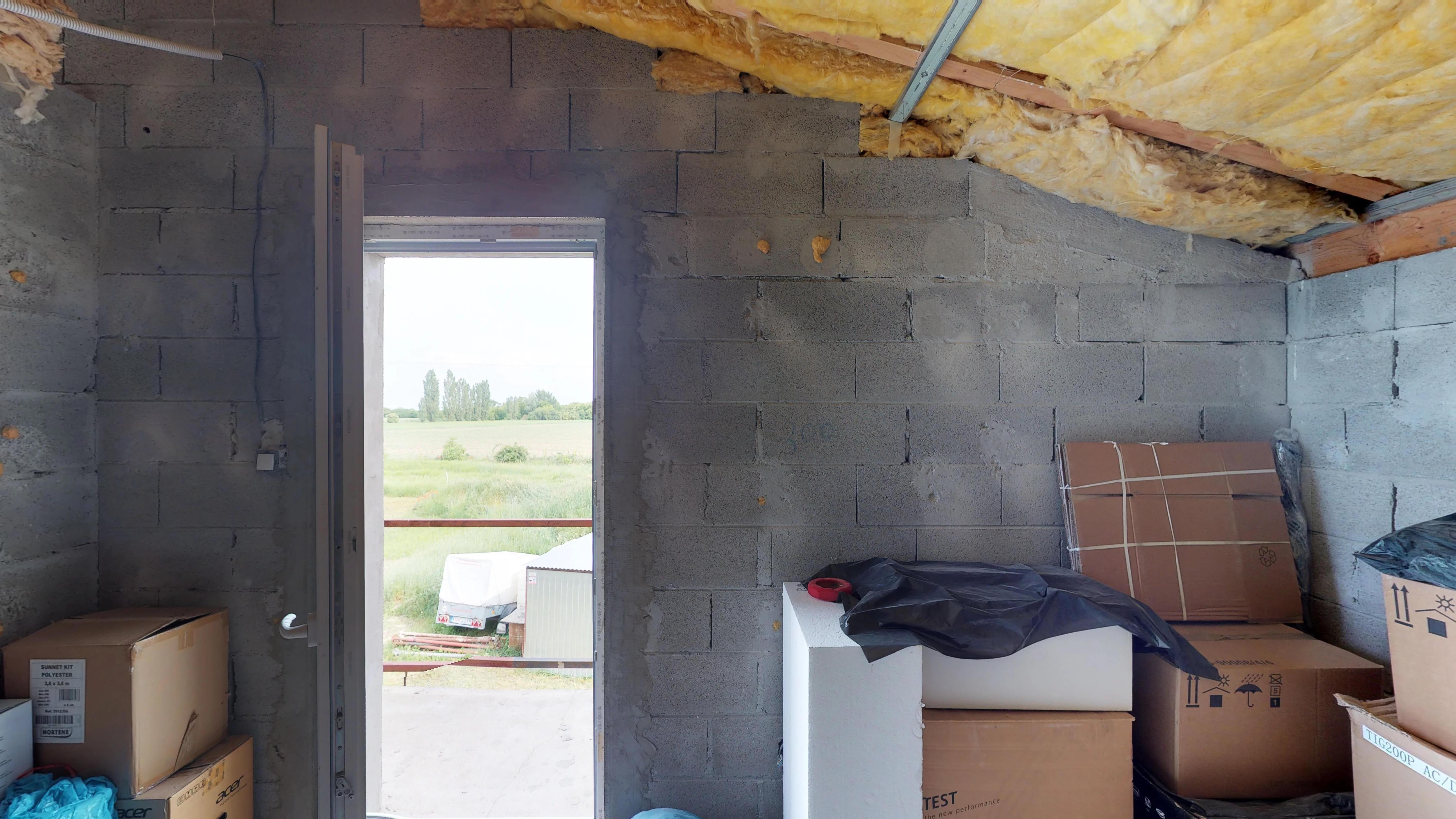 Predané #3D obhliadka: Rodinný dom v obci Kvetoslavovo.-19