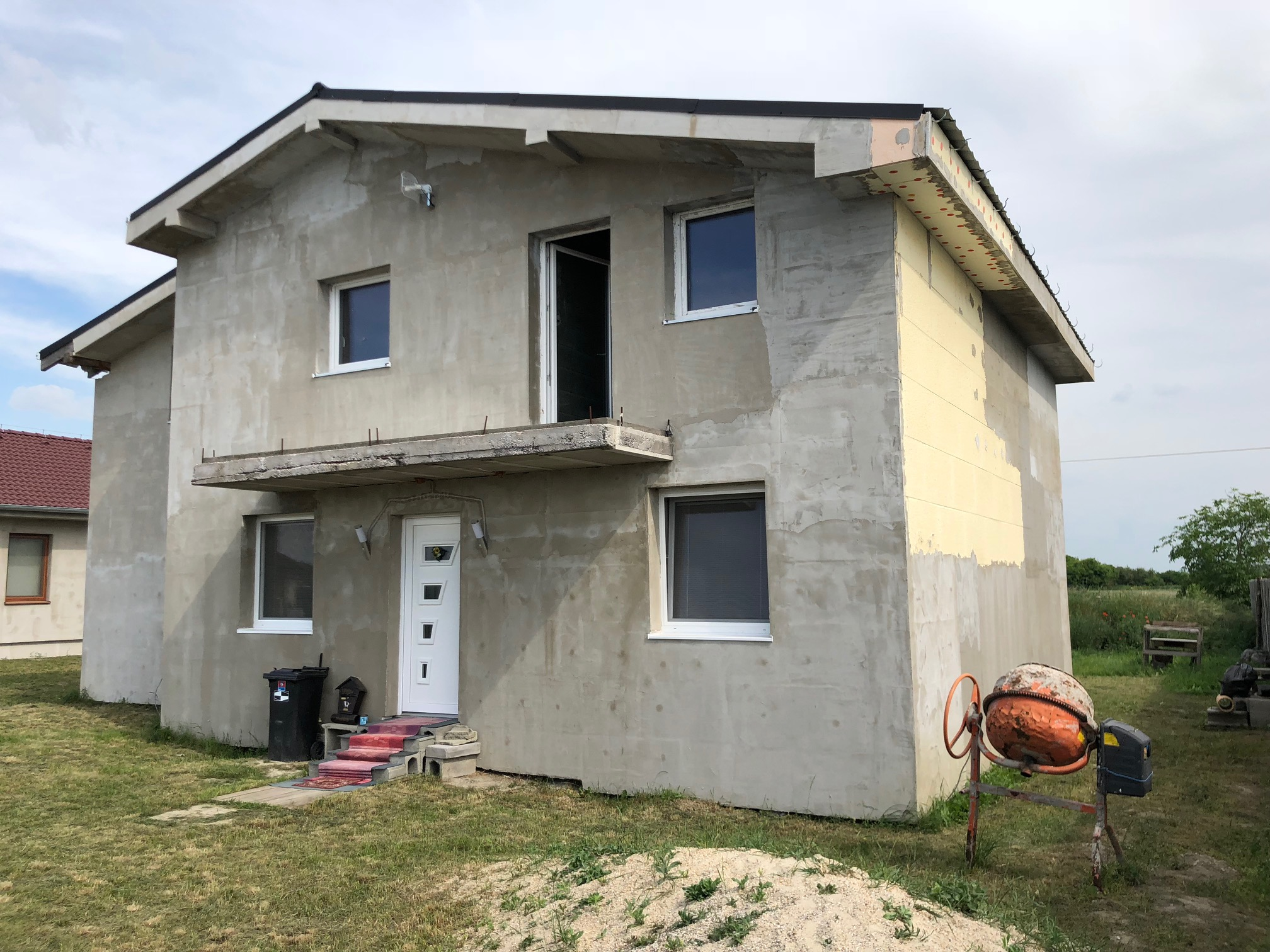 Predané #3D obhliadka: Rodinný dom v obci Kvetoslavovo.-24