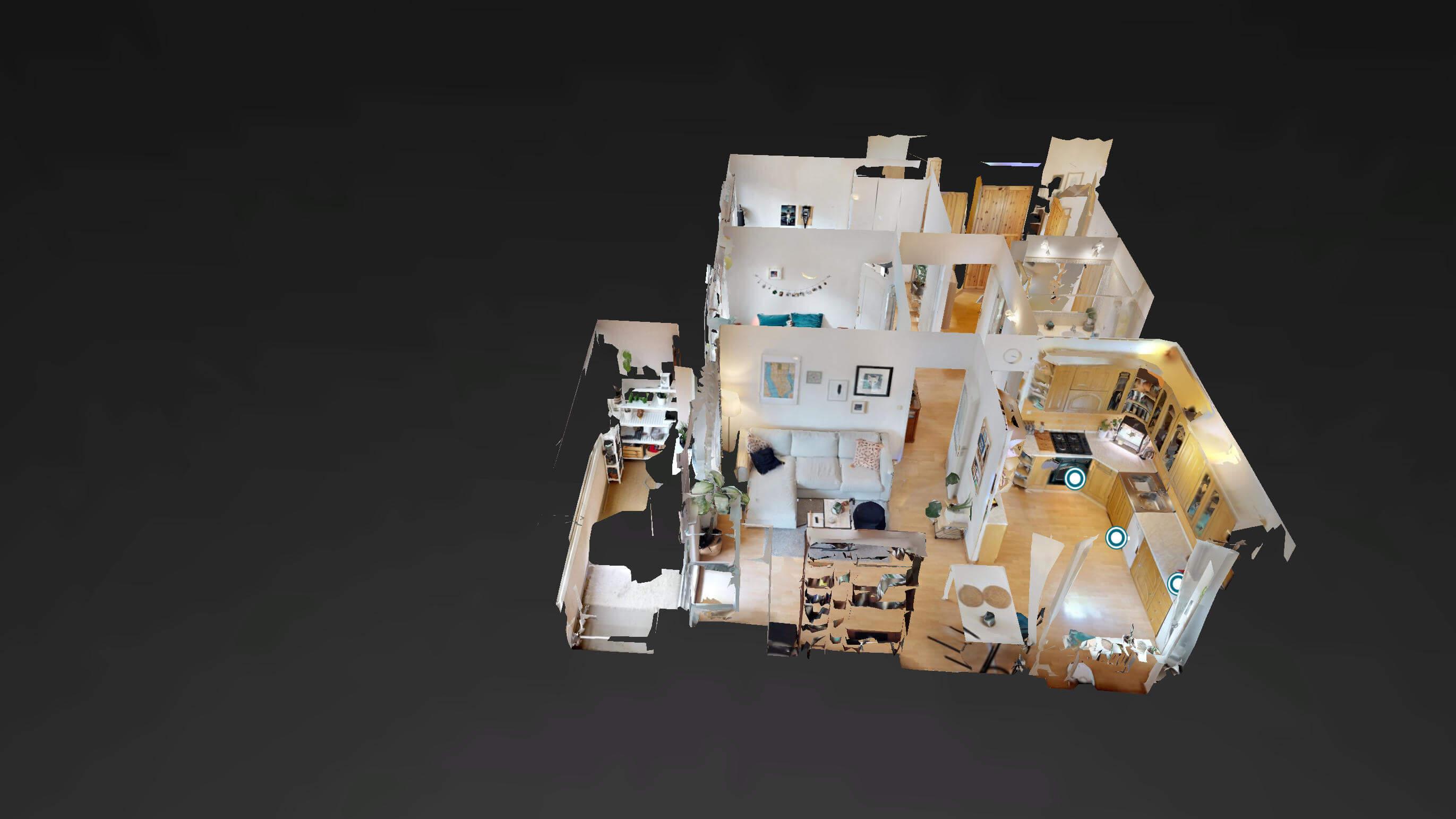 Predané Predaj exkluzívneho 3 izb. bytu,v Ružinove, ulica Palkovičová, blízko Trhoviska Miletičky v Bratislave, 68m2, kompletne zariadený-41