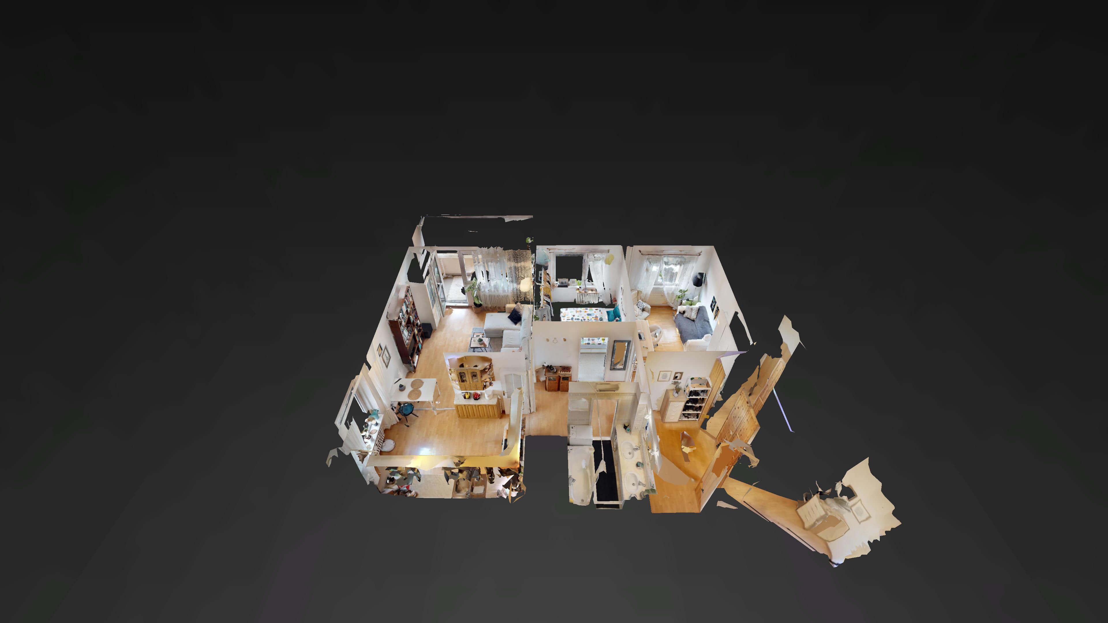 Predané Predaj exkluzívneho 3 izb. bytu,v Ružinove, ulica Palkovičová, blízko Trhoviska Miletičky v Bratislave, 68m2, kompletne zariadený-40