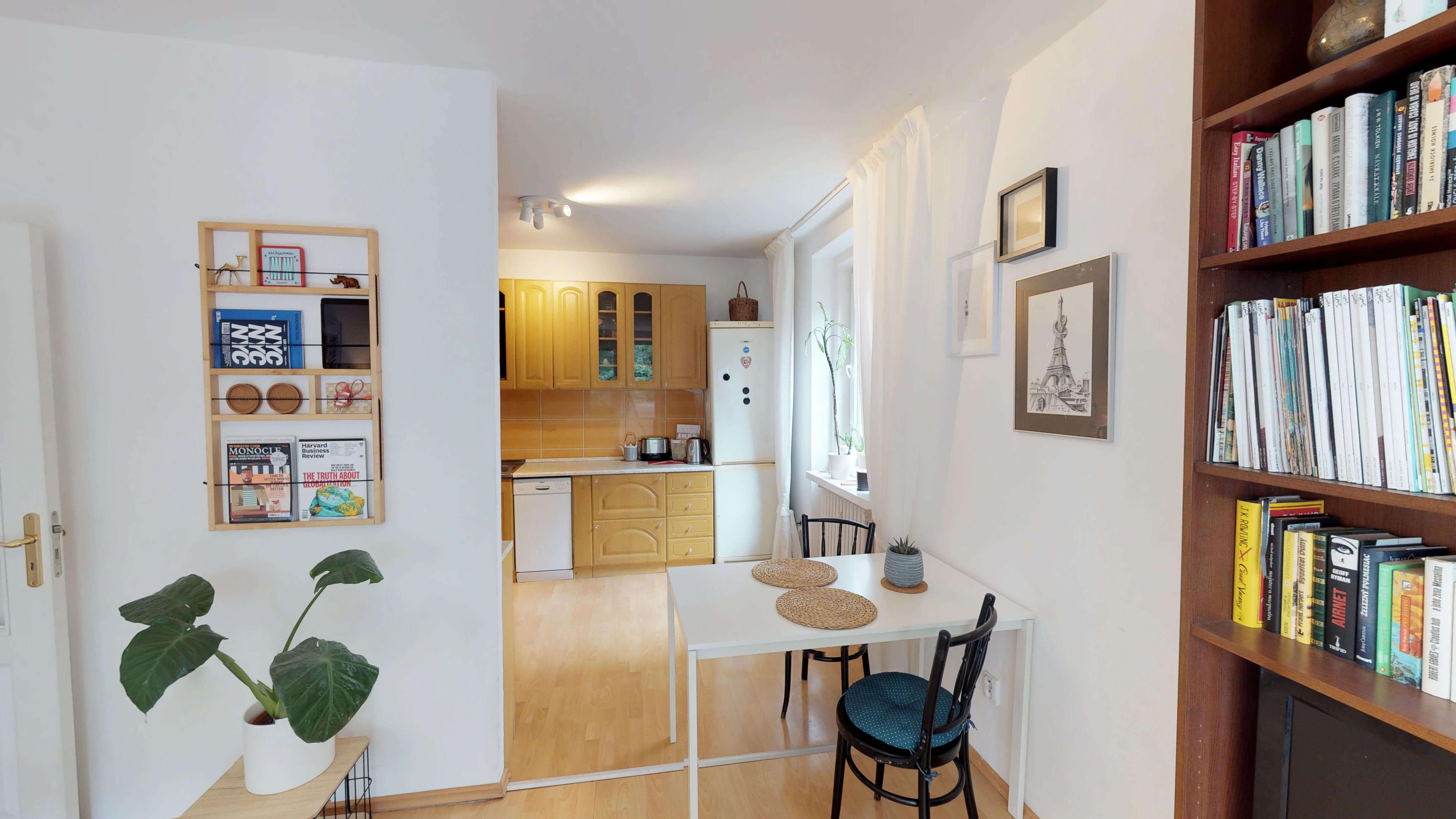 Predané Predaj exkluzívneho 3 izb. bytu,v Ružinove, ulica Palkovičová, blízko Trhoviska Miletičky v Bratislave, 68m2, kompletne zariadený-3