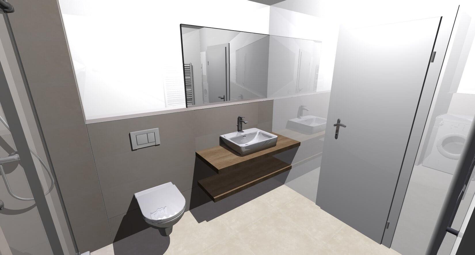 Predané: Novostavba posledný 1 izbový byt, širšie centrum v Bratislave, Beskydská ulica, 44,87m2, štandard, terasa 40m2-11