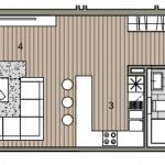 Predané: Novostavba posledný 1 izbový byt, širšie centrum v Bratislave, Beskydská ulica, 44,87m2, štandard, terasa 40m2-10