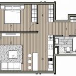 Predané: Novostavba 2 izbový byt, širšie centrum v Bratislave, Beskydská ulica, 56,85m2, štandard.-10