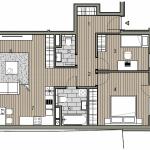 Predané: Novostavba 3 izbový byt, širšie centrum v Bratislave, Beskydská ulica, 75,54m2, balkón 4,5m2, štandard.-14
