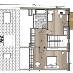 Predané: Novostavba Mezonet 4 izbový, širšie centrum v Bratislave, Beskydská ulica, 141m2, balkón a logia spolu 30,84m2, štandard.-6