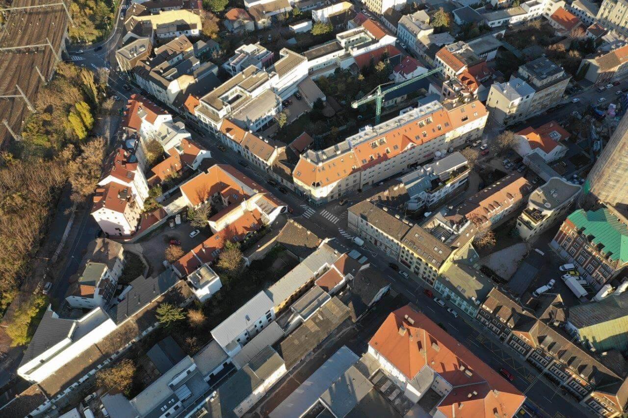 Predané: Novostavba posledný 1 izbový byt, širšie centrum v Bratislave, Beskydská ulica, 44,87m2, štandard, terasa 40m2-2