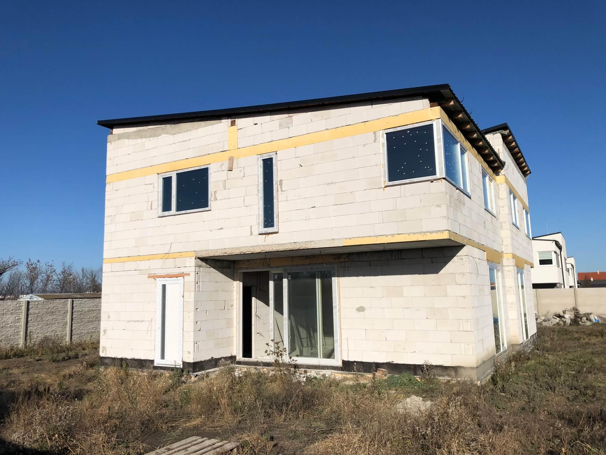 Predané: RD s 2 bytovými jednotkami, Novostavba v Dunajskej Lužnej, 2X: 4 izbový,pozemok 422m2,úžitkova 106m2-9