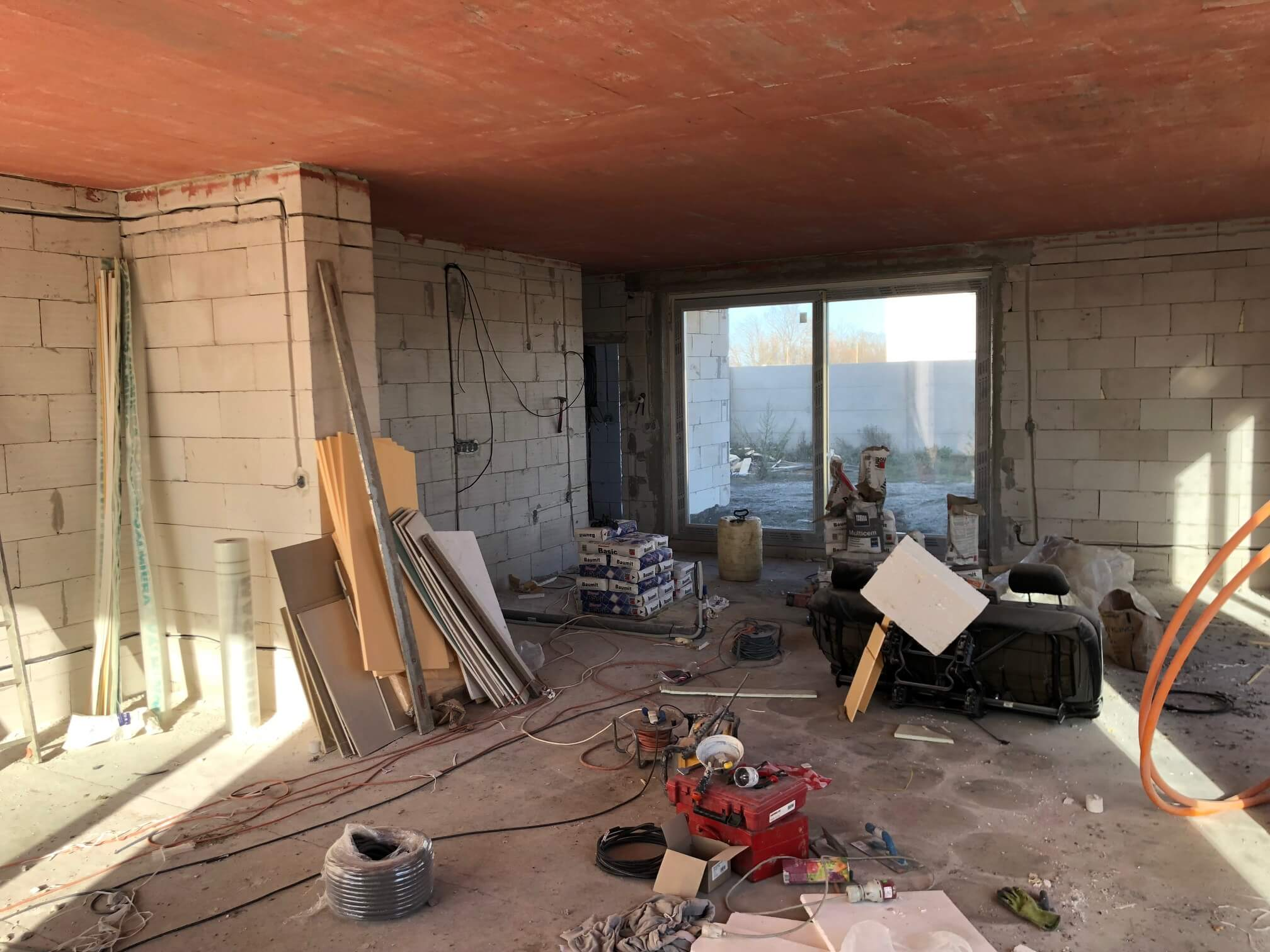 Predané: RD s 2 bytovými jednotkami, Novostavba v Dunajskej Lužnej, 2X: 4 izbový,pozemok 422m2,úžitkova 106m2-53