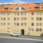 Predané: Novostavba posledný 1 izbový byt, širšie centrum v Bratislave, Beskydská ulica, 44,87m2, štandard, terasa 40m2-7