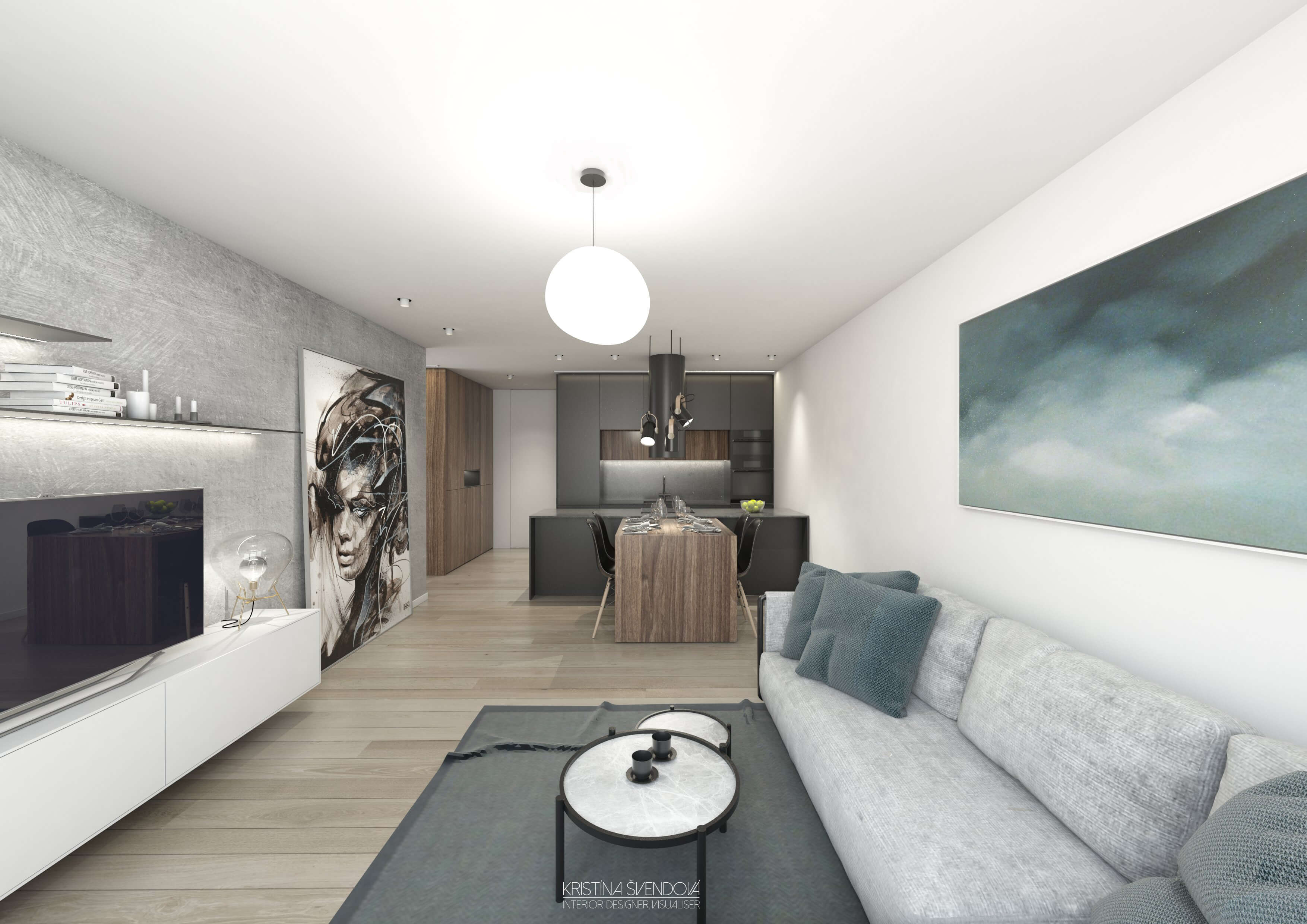 Predané: Exkluzívny 3- izbový byt v NOVOSTAVBE BA-NIVY, City Park, 71,24m2, balkón 8,5m2-1