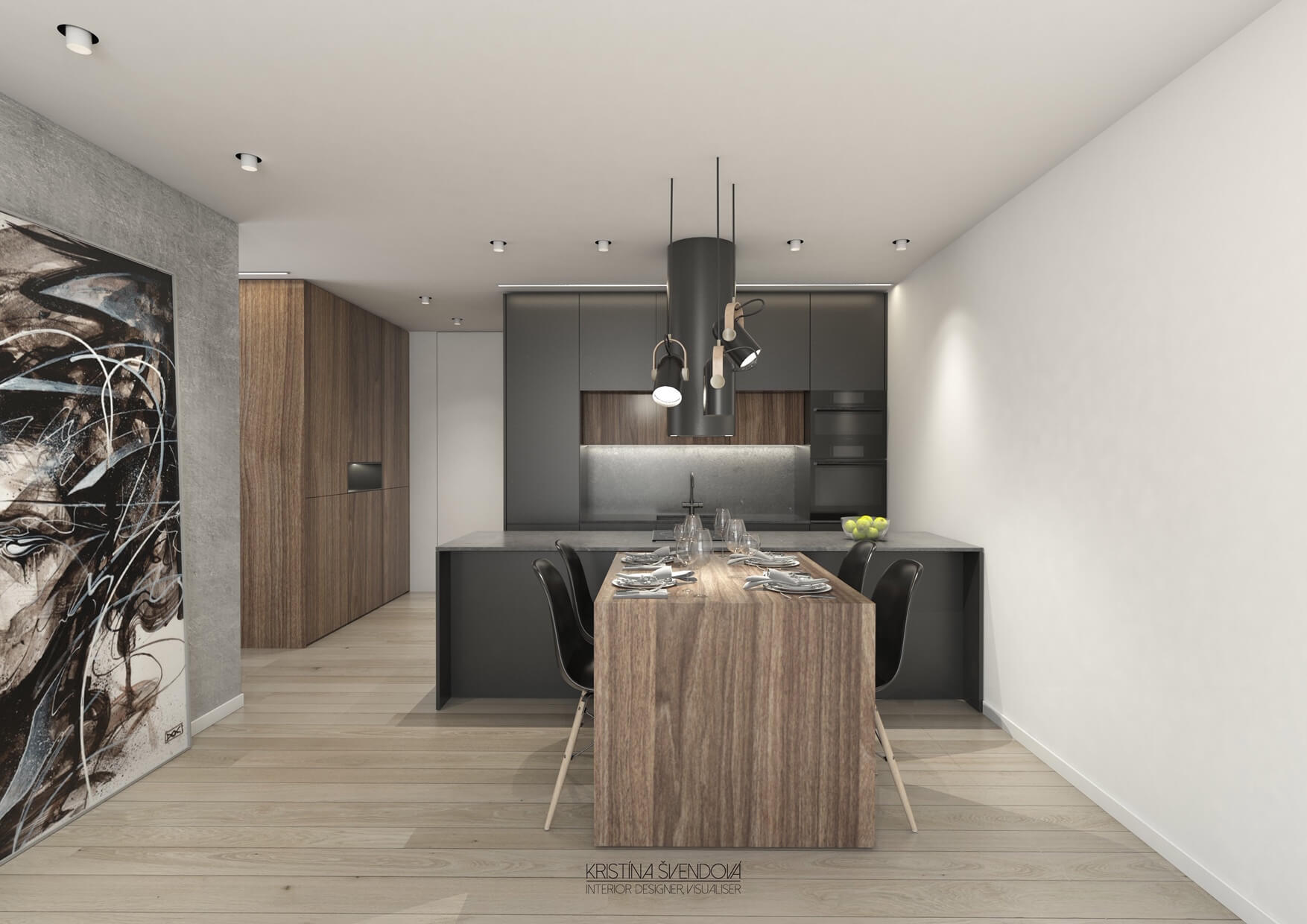Predané: Exkluzívny 3- izbový byt v NOVOSTAVBE BA-NIVY, City Park, 71,24m2, balkón 8,5m2-5