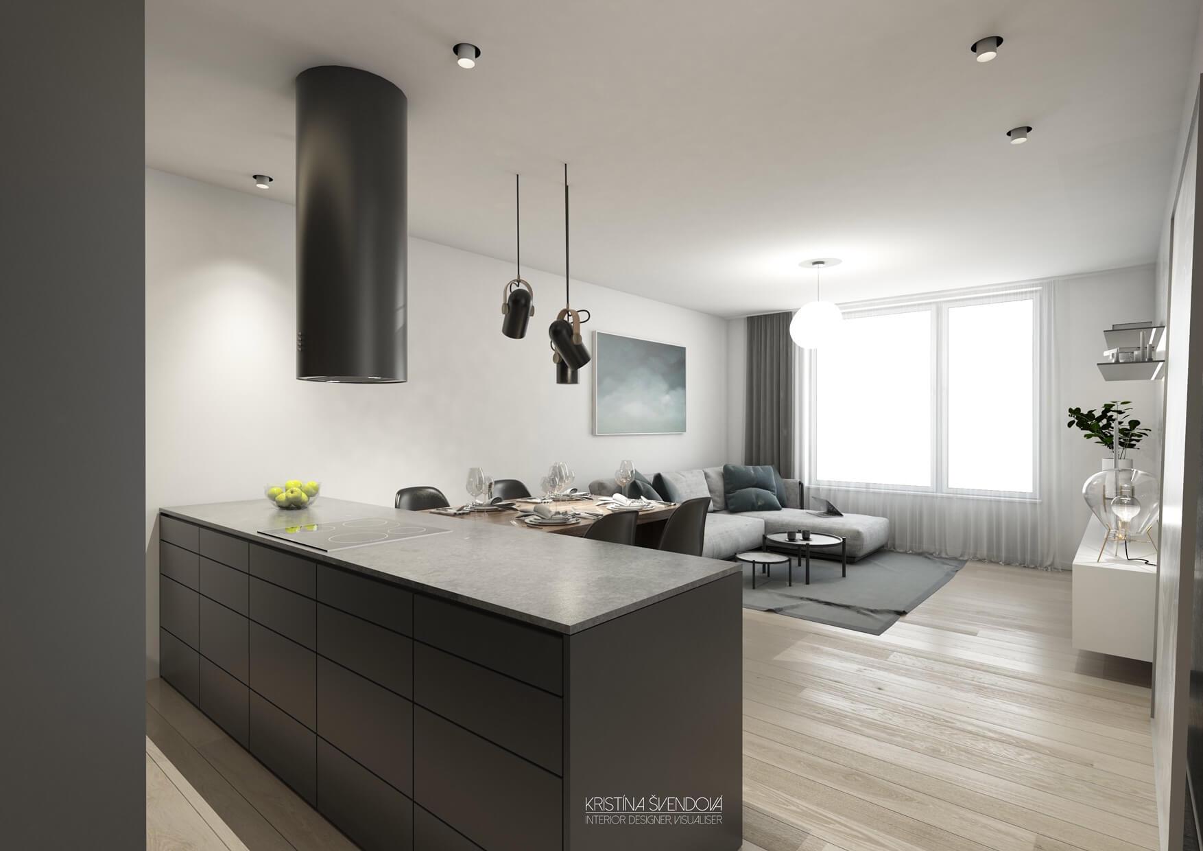 Predané: Exkluzívny 3- izbový byt v NOVOSTAVBE BA-NIVY, City Park, 71,24m2, balkón 8,5m2-3