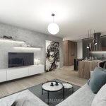 Predané: Exkluzívny 3- izbový byt v NOVOSTAVBE BA-NIVY, City Park, 71,24m2, balkón 8,5m2-0