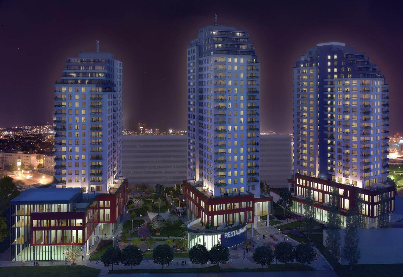 Predané: Exkluzívny 3- izbový byt v NOVOSTAVBE BA-NIVY, City Park, 71,24m2, balkón 8,5m2-20