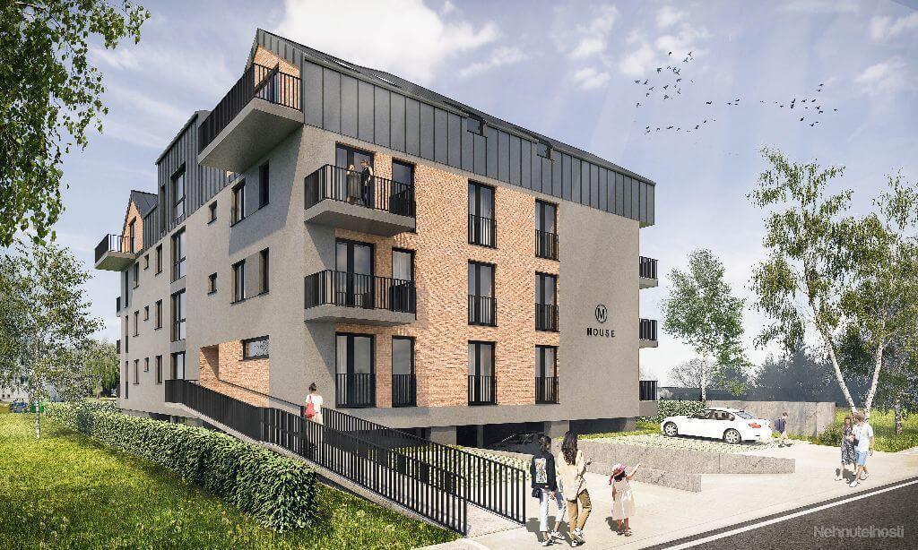 Predané: Novostavba 4 Izbový, M-House, Malacky centrum, 91,60m2, Loggia 15,29m2-0