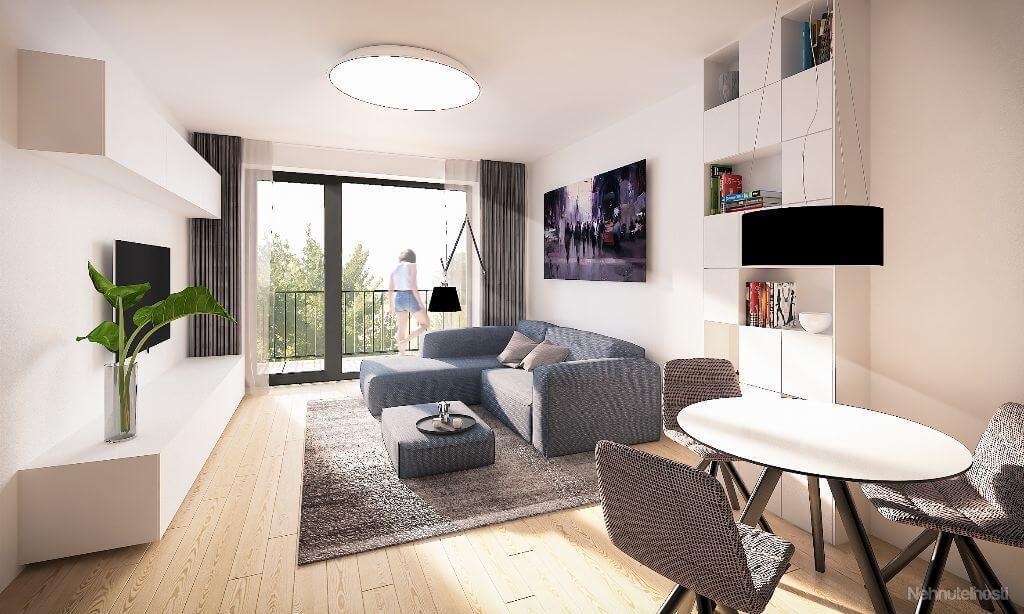 Predané: Novostavba 4 Izbový, M-House, Malacky centrum, 91,60m2, Loggia 15,29m2-10
