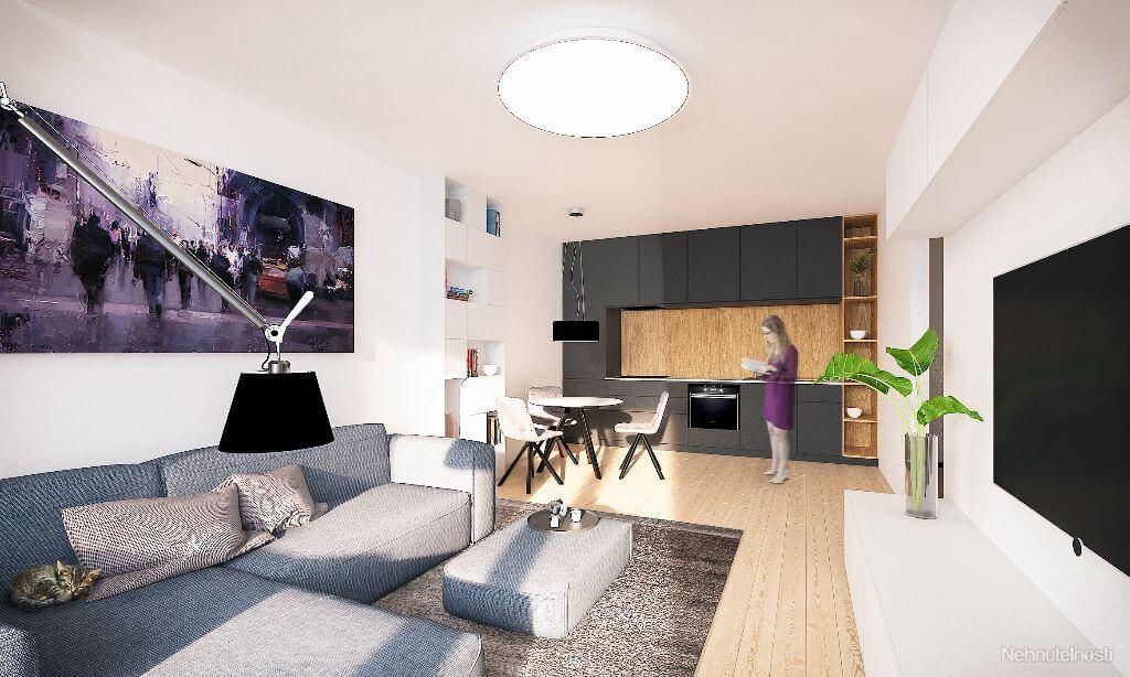 Predané: Novostavba 4 Izbový, M-House, Malacky centrum, 91,60m2, Loggia 15,29m2-11
