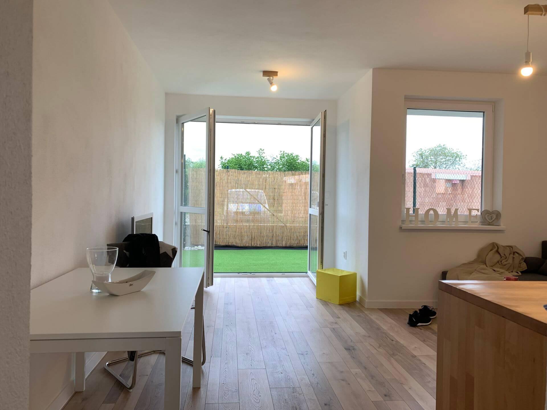 Predané: Predáme 1 izbový byt, Ligurčeková, Podunajská Biskupice, 30m2, záhrada 26m2, parkovacie státie 12m2-1