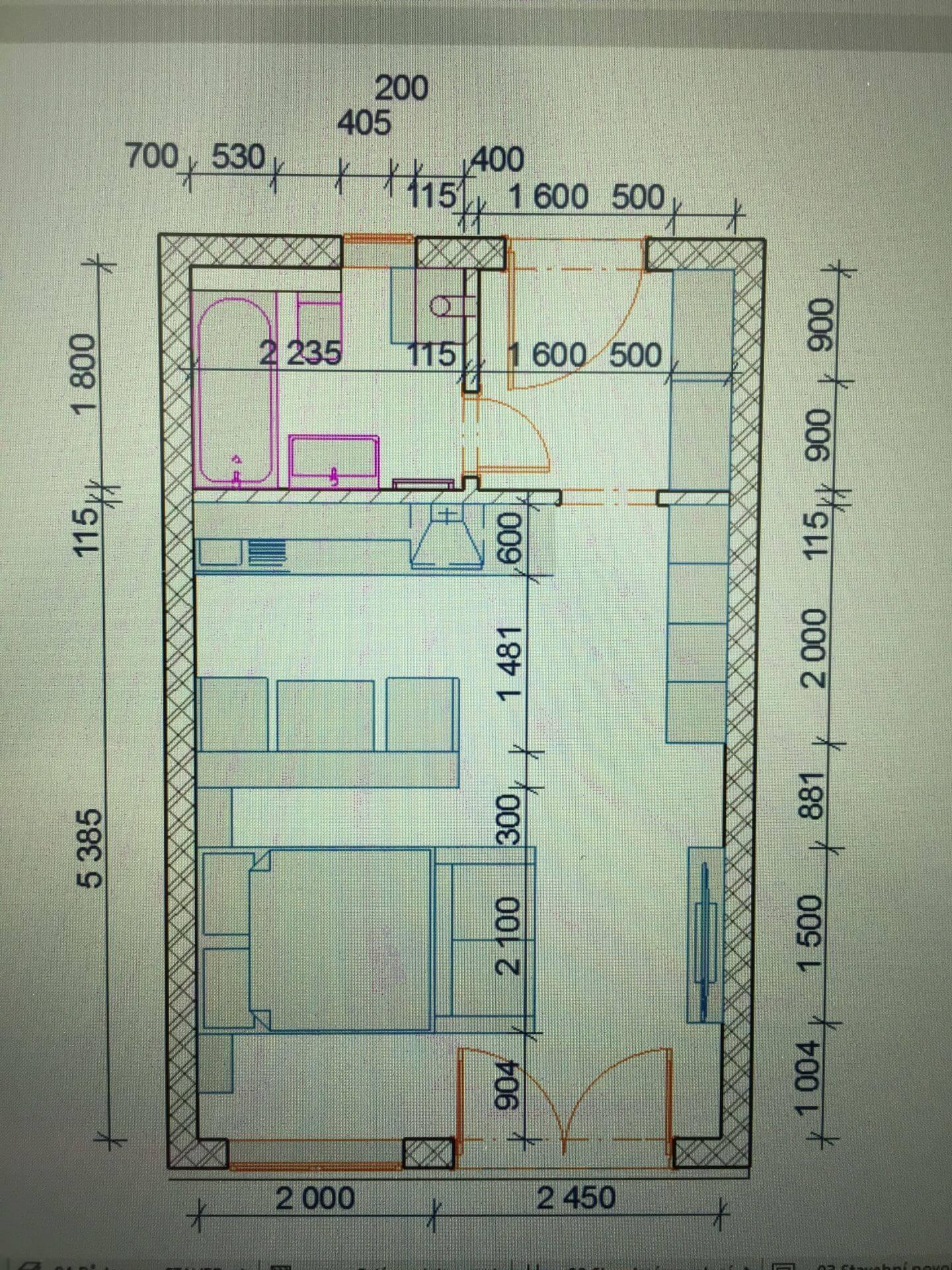 Predané: Predáme 1 izbový byt, Ligurčeková, Podunajská Biskupice, 33,3m2, záhrada 23m2-6