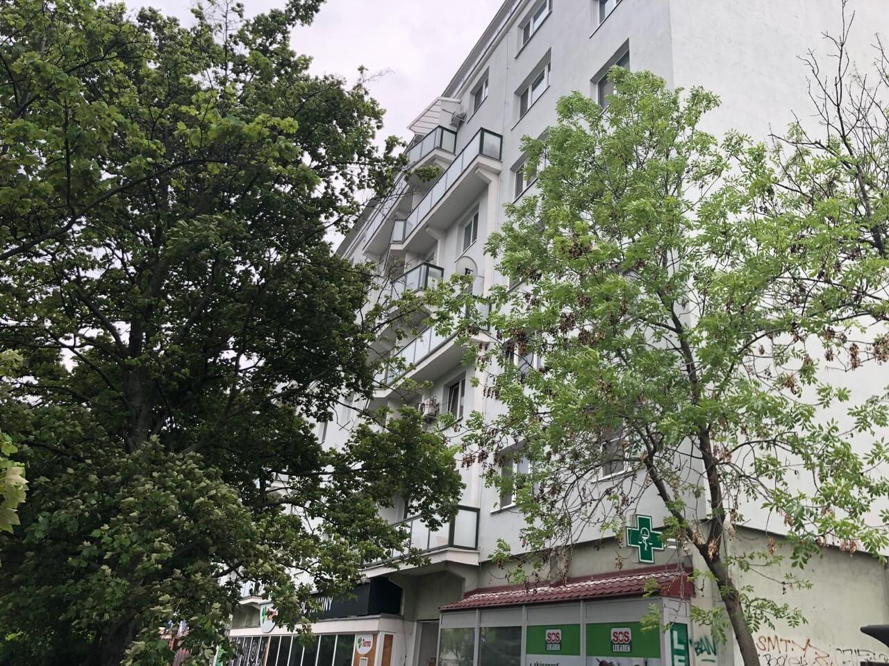 Prenajatý: 3 izbový byt, Račianska 85, 63m2, balkon 10m2, výborná lokalita-15