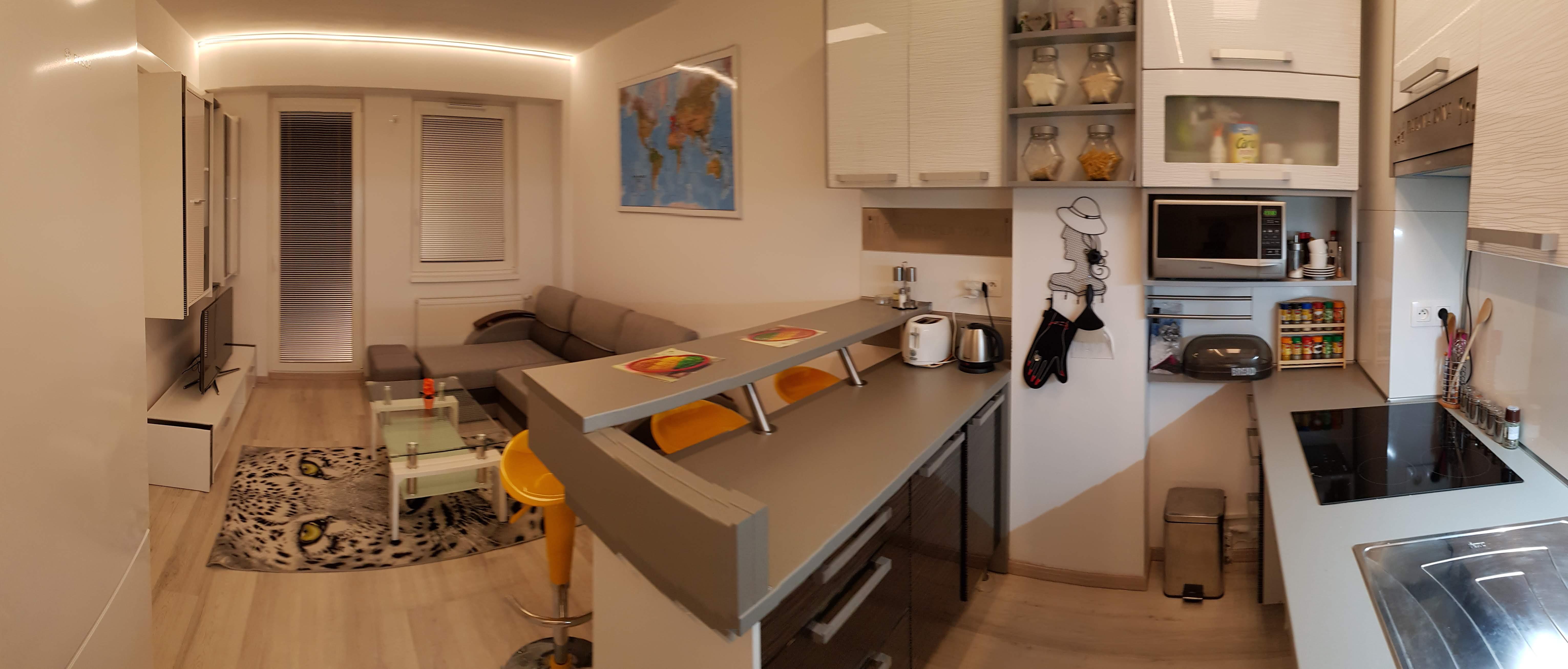 Prenajaté: Prenájom 2 izb. byt, Dornyk, Ružinov-Trnávka, 34,51m2, Pri Avione-49
