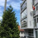 Prenajate: Prenájom 4 izbového luxusného bytu, Pri Slavíne, novostavba, 2x parkovanie, Boženy Nemcovej, Centrum-53