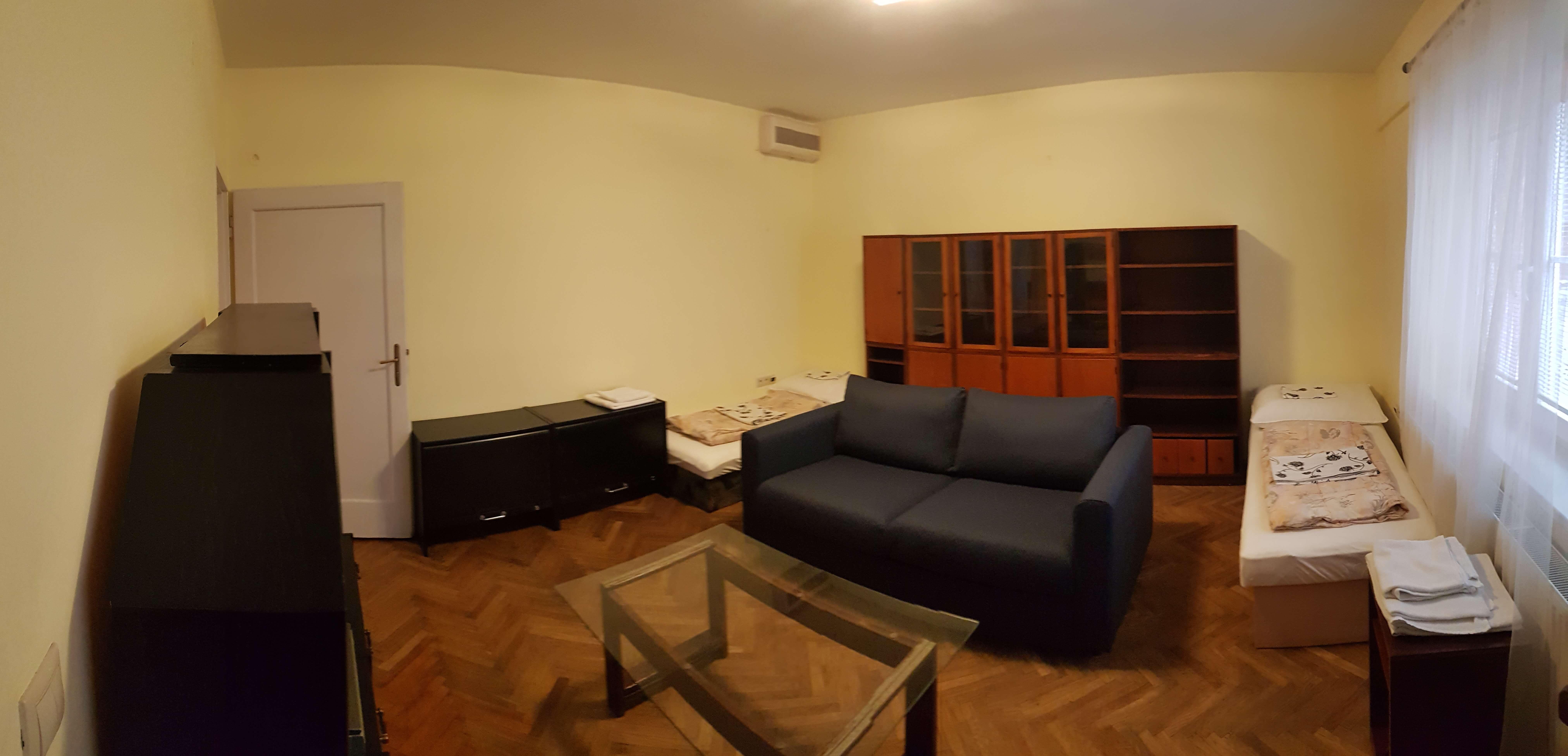 Prenájom jednej izby v 2 izb. byte, staré mesto, Šancová ulica, Bratislava, 80m2, zariadený-12