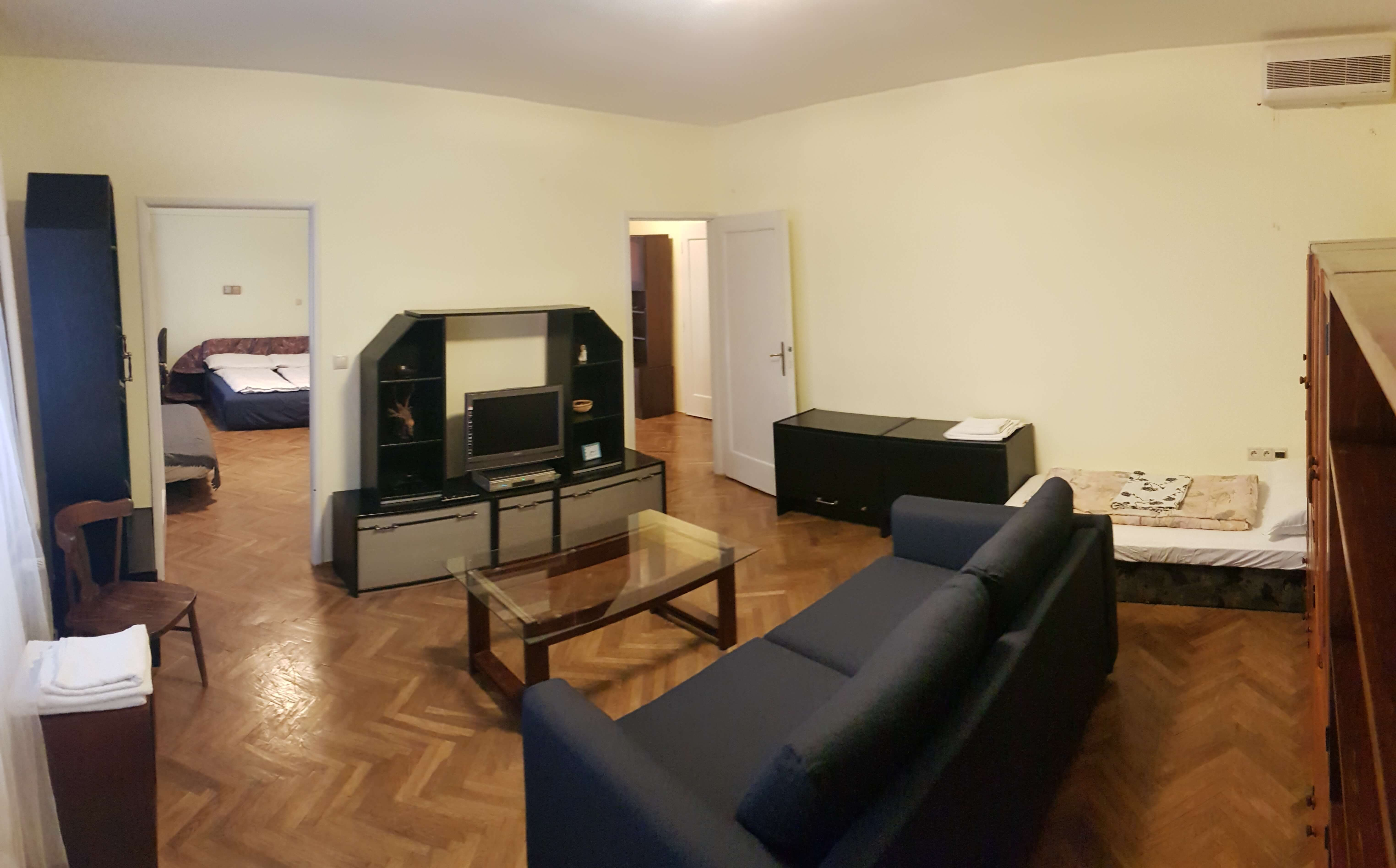 Prenájom jednej izby v 2 izb. byte, staré mesto, Šancová ulica, Bratislava, 80m2, zariadený-0
