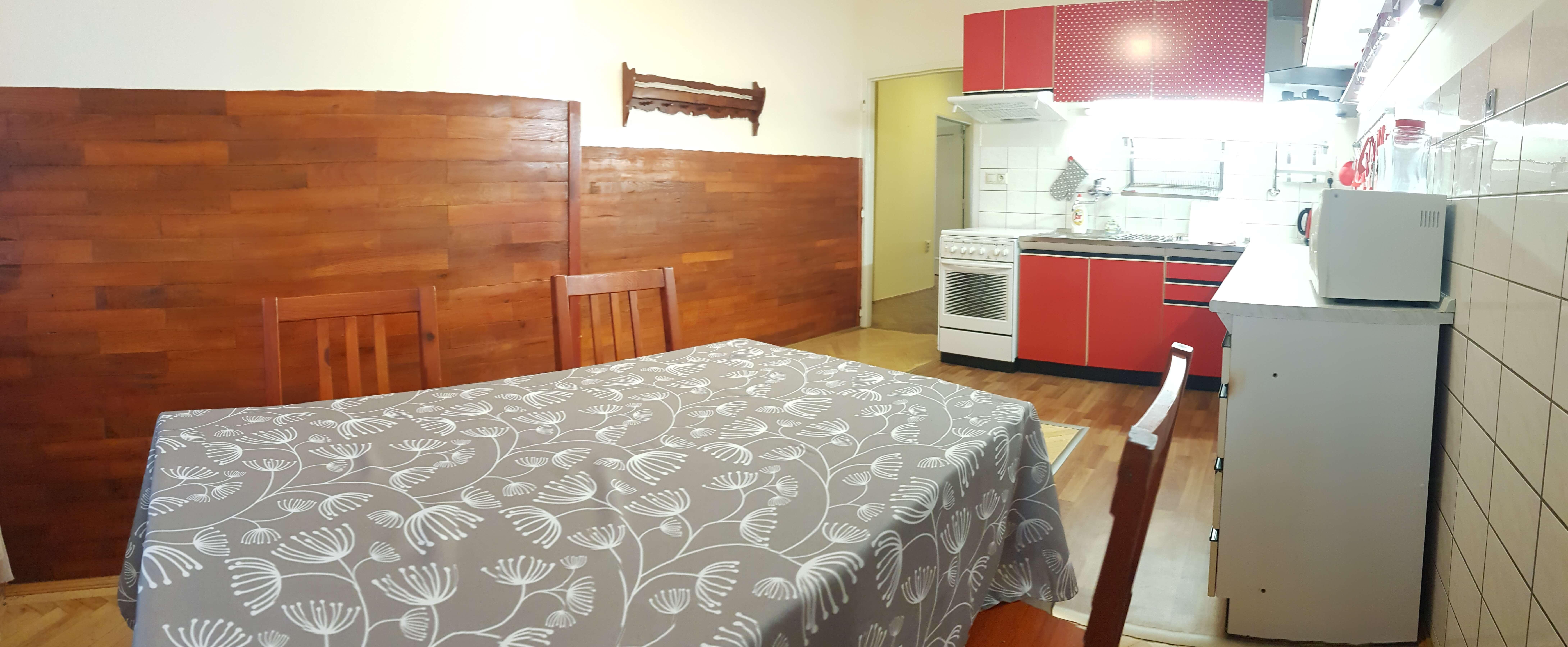 Prenájom jednej izby v 2 izb. byte, staré mesto, Šancová ulica, Bratislava, 80m2, zariadený-17