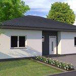 Predané: Exkluzívne 4 izbový Rodinný dom BUNGALOV 116m2, Miloslavov, pozemok 600m2-30