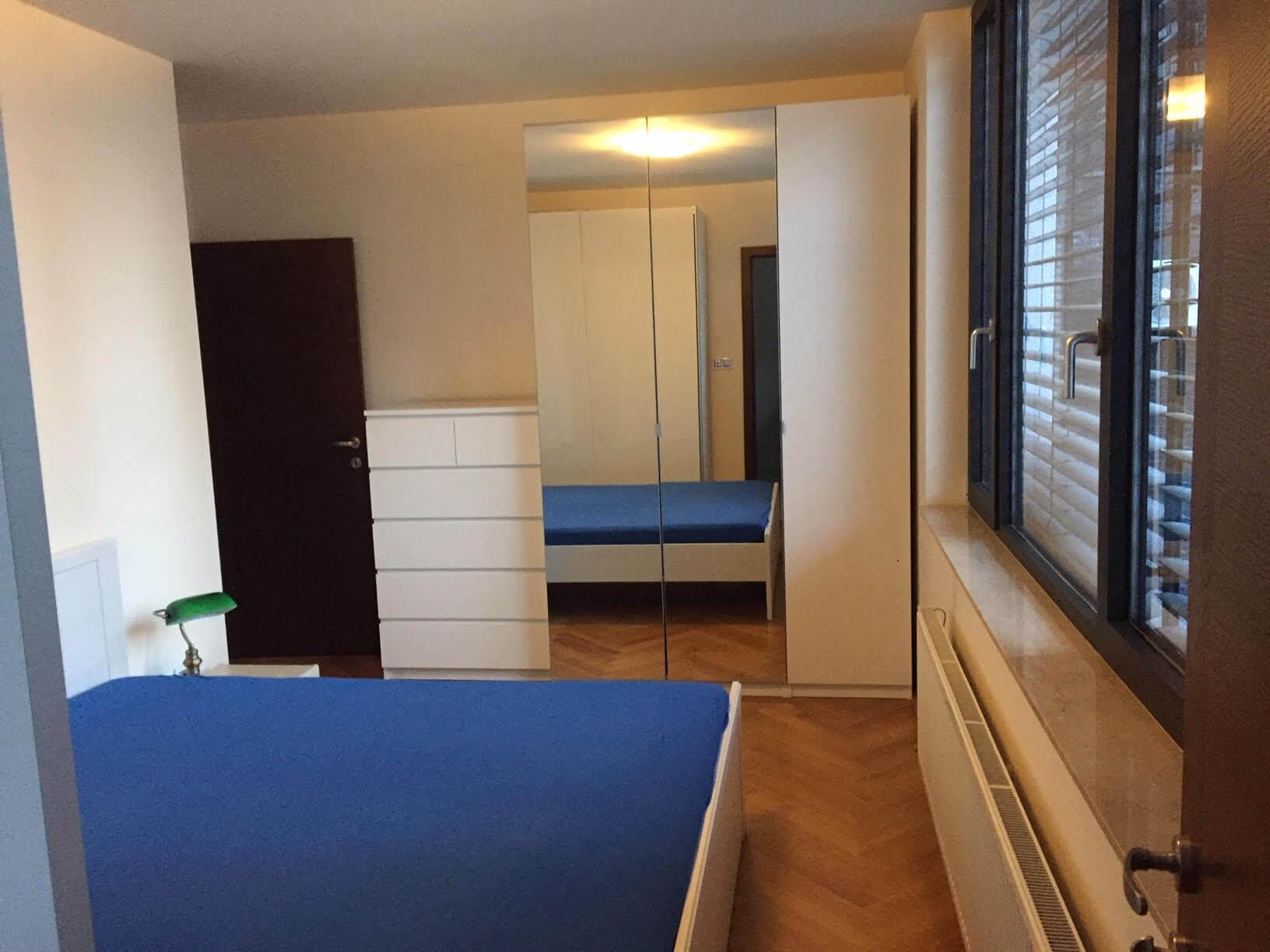 Prenajaté: Luxusný 3 izbový byt v centre BA, 88m2, Dunajská 48, balkón 6m, garážové státie,klimatizácia, krb-5