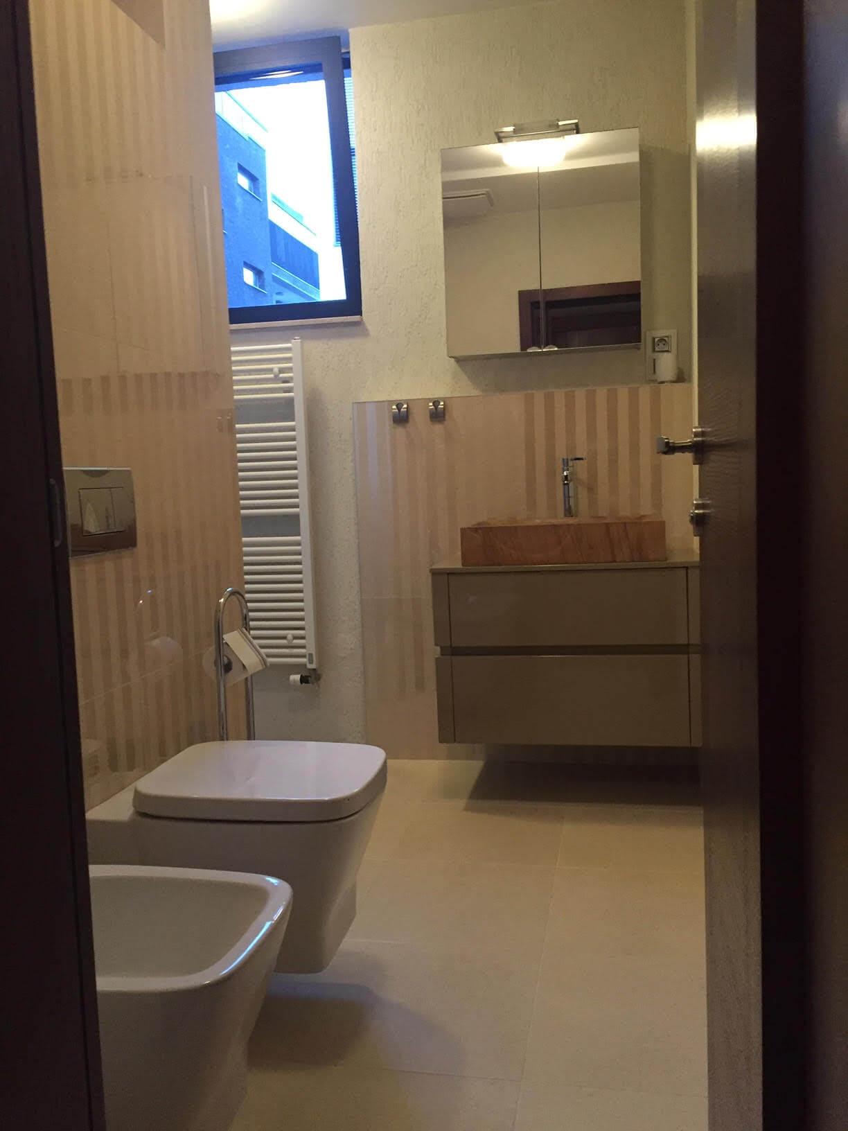Prenajaté: Luxusný 3 izbový byt v centre BA, 88m2, Dunajská 48, balkón 6m, garážové státie,klimatizácia, krb-4