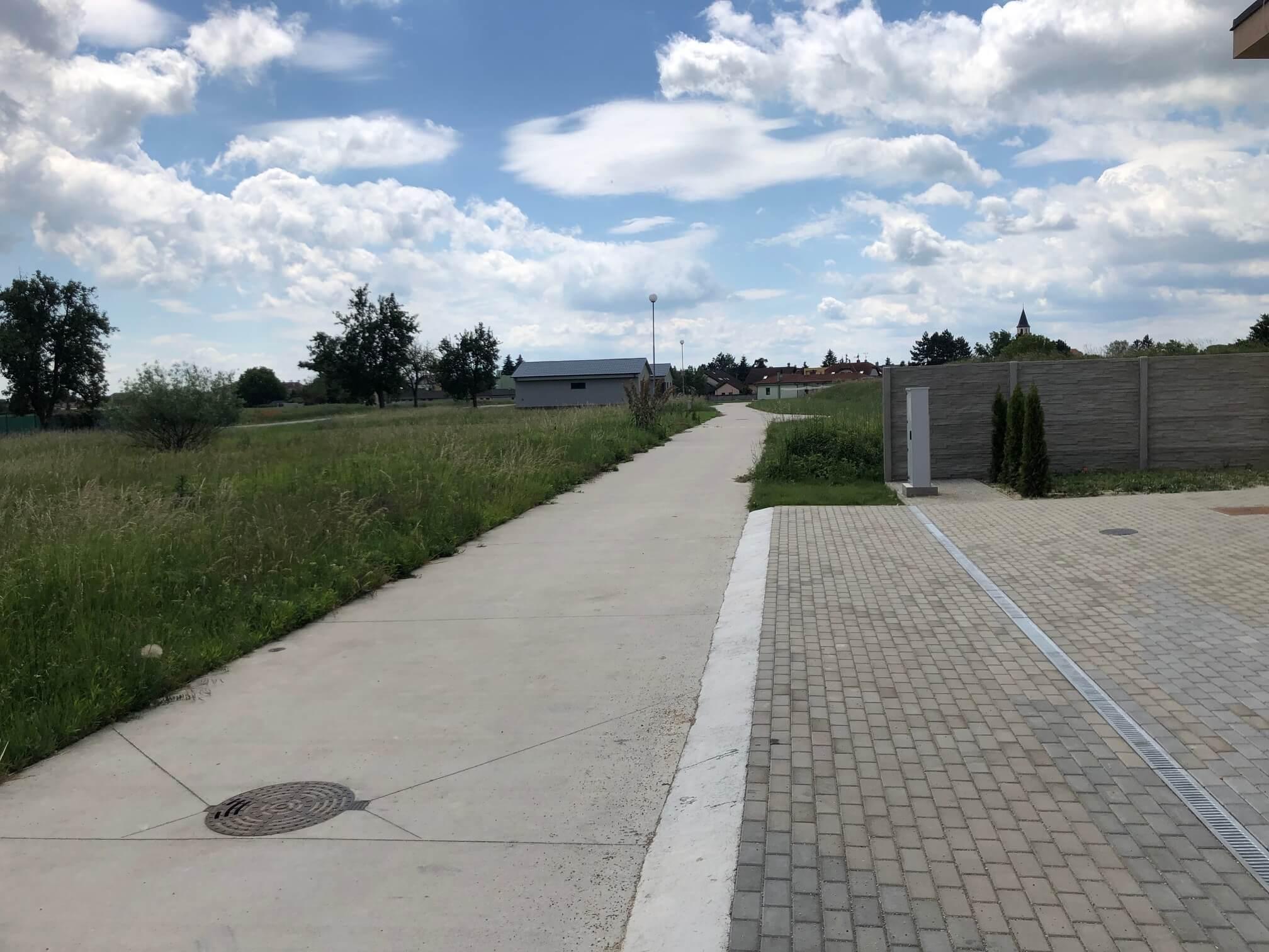 Predané: Rodinný dom 3 izbový, Novostavba, Kalinkovo, pri hrádzi, úžitková 92,85m2, záhrada 145m2-4