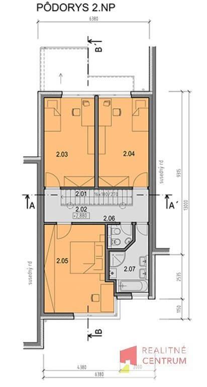 Prenájom 4izb Novostavby RD kompletne zariadneného,Hrachova, Prievoz, Bratislava 281m2, záhrada 65m2-45