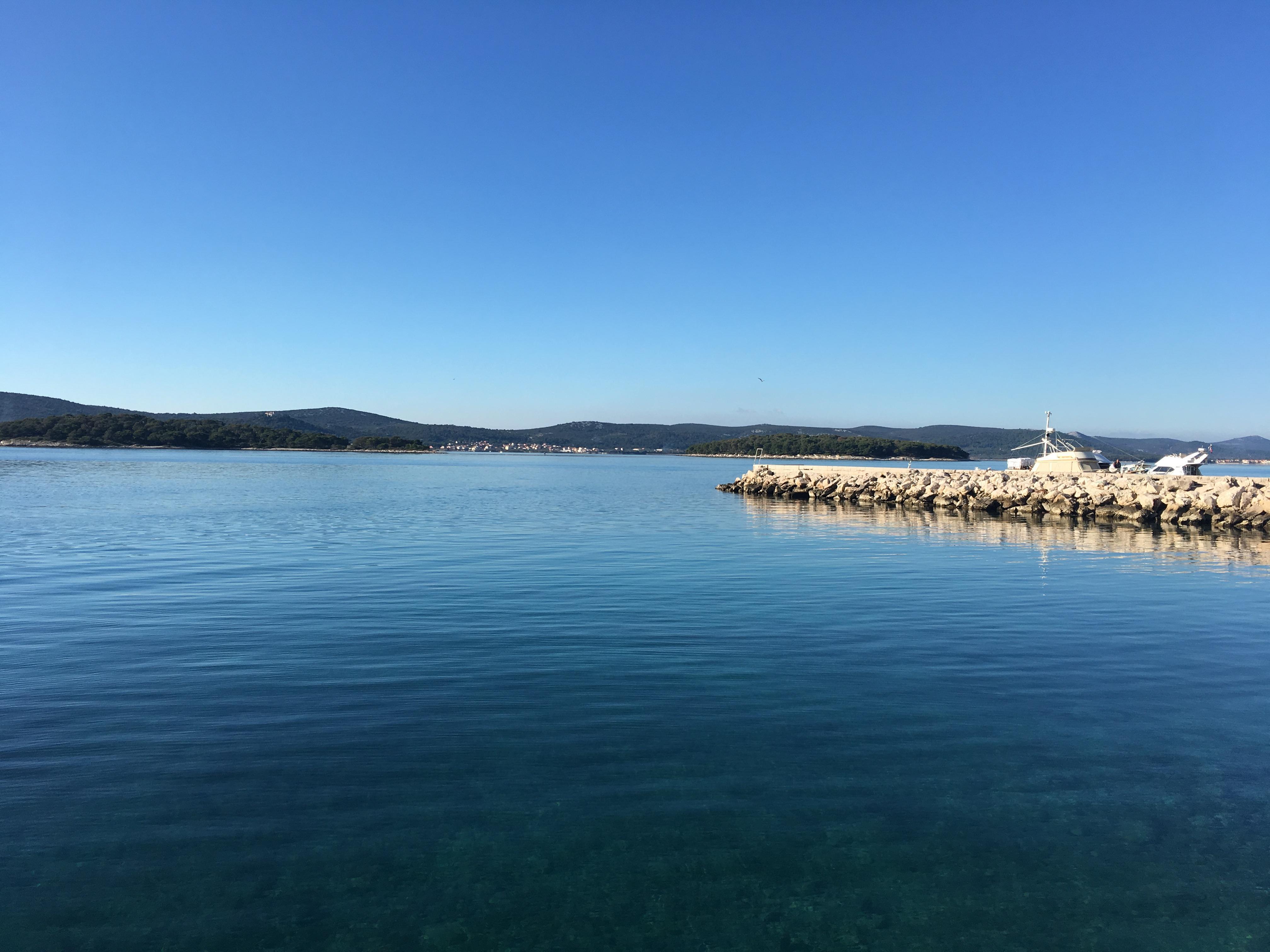 3 izbový apartmán pri mori v Chorvátsku, Biogradská riviera Turanj, 100m2 + garaž, 70m od mora-22