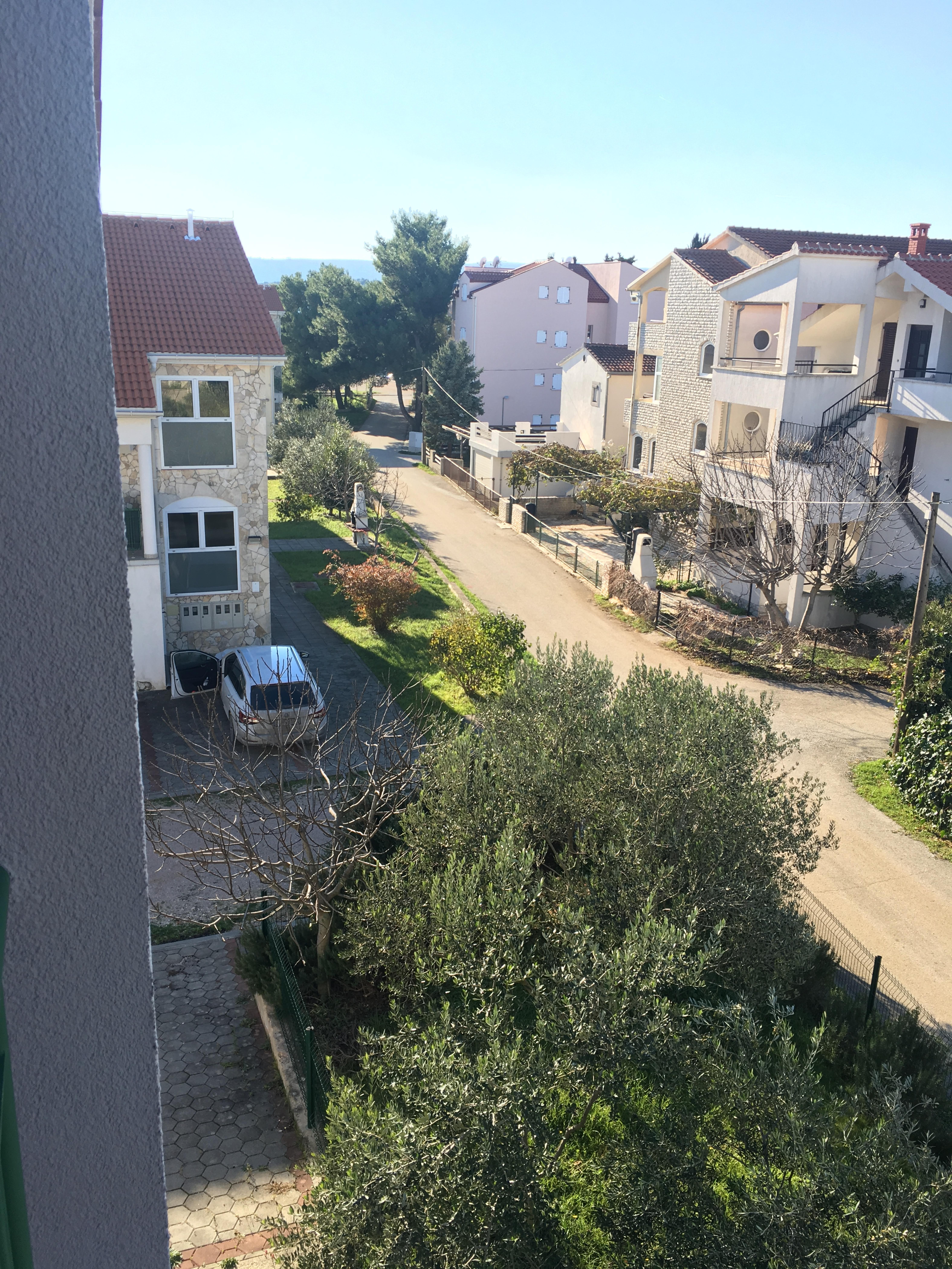 3 izbový apartmán pri mori v Chorvátsku, Biogradská riviera Turanj, 100m2 + garaž, 70m od mora-14