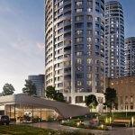 Predané: 2 izbový byt v Sky parku, III Veža,  17 poschodie, úžitková 50,51m2, Loggia 4,99m2,parkovacie miesto-30