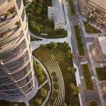Predané: 2 izbový byt v Sky parku, III Veža,  17 poschodie, úžitková 50,51m2, Loggia 4,99m2,parkovacie miesto-27