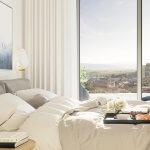 Predané: 2 izbový byt v Sky parku, III Veža,  17 poschodie, úžitková 50,51m2, Loggia 4,99m2,parkovacie miesto-13