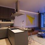 Predané: 2 izbový byt v Sky parku, III Veža,  17 poschodie, úžitková 50,51m2, Loggia 4,99m2,parkovacie miesto-11