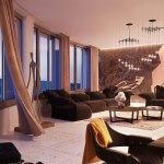 Predané: 2 izbový byt v Sky parku, III Veža,  17 poschodie, úžitková 50,51m2, Loggia 4,99m2,parkovacie miesto-10