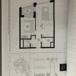 Predané: 2 izbový byt v Sky parku, III Veža,  17 poschodie, úžitková 50,51m2, Loggia 4,99m2,parkovacie miesto-0