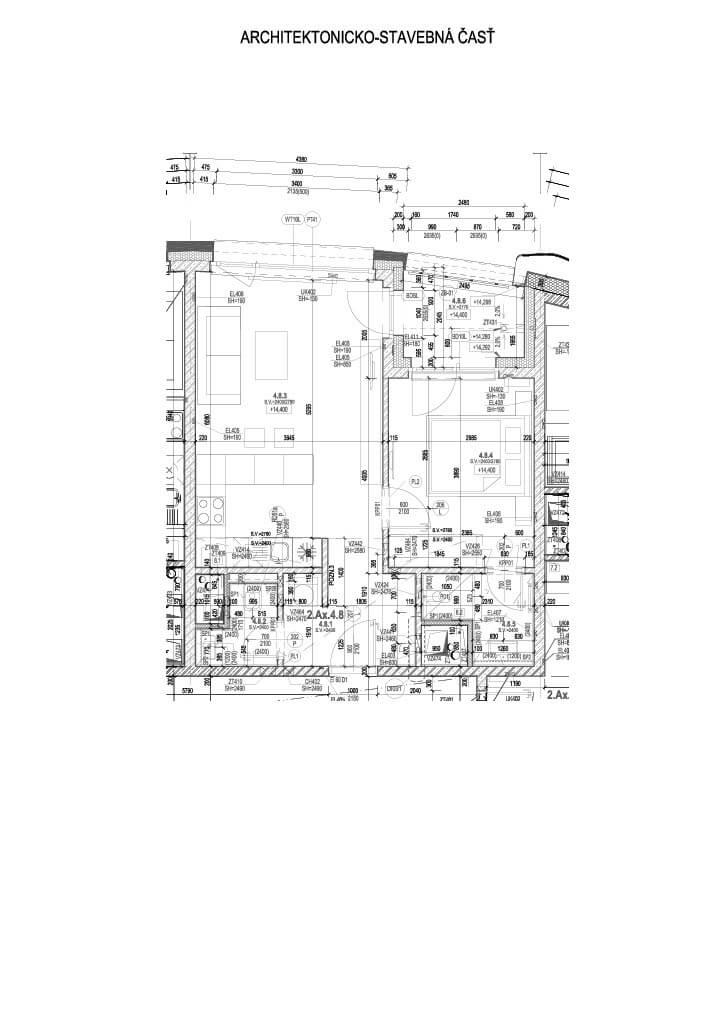 Predané: 2 izbový byt v Sky parku, I Veža, 6 nadzemné podlažie, úžitková 46,28 m2 ,Loggia 4,75m2, parkovanie-18