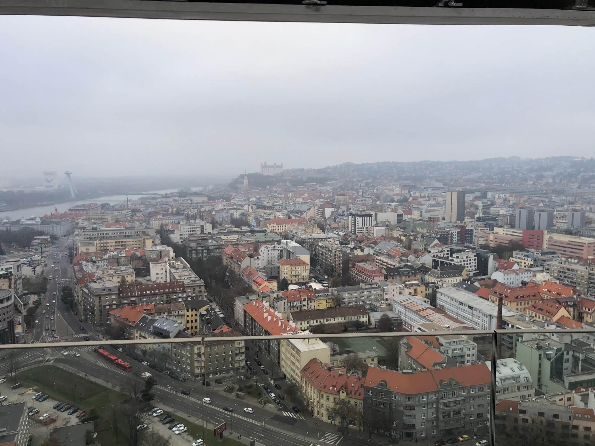 Predané: 2 izbový byt v Sky parku, I Veža, 6 nadzemné podlažie, úžitková 46,28 m2 ,Loggia 4,75m2, parkovanie-14