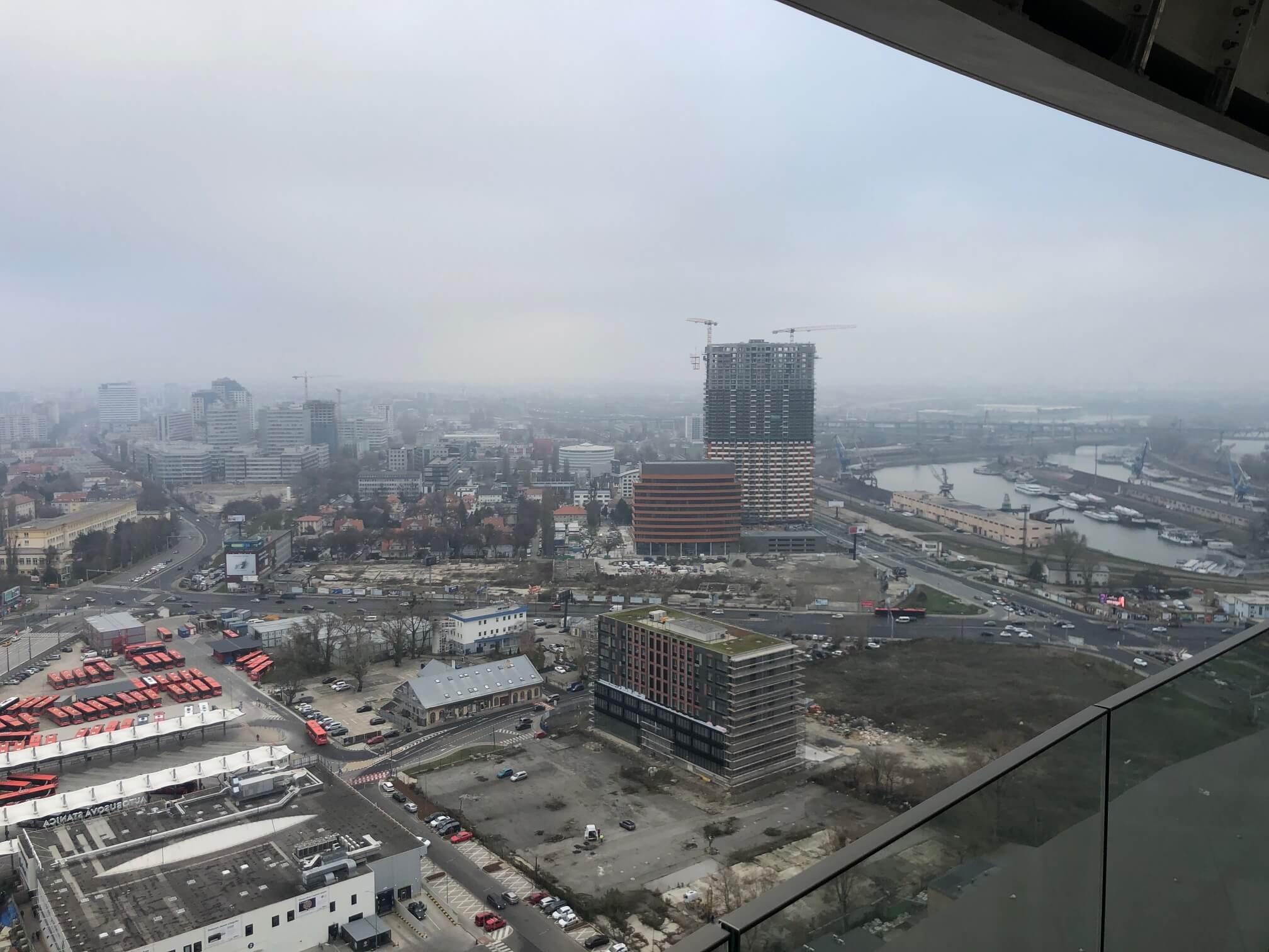 Predané: 2 izbový byt v Sky parku, I Veža, 6 nadzemné podlažie, úžitková 46,28 m2 ,Loggia 4,75m2, parkovanie-11