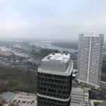 Predané: 2 izbový byt v Sky parku, I Veža, 6 nadzemné podlažie, úžitková 46,28 m2 ,Loggia 4,75m2, parkovanie-9
